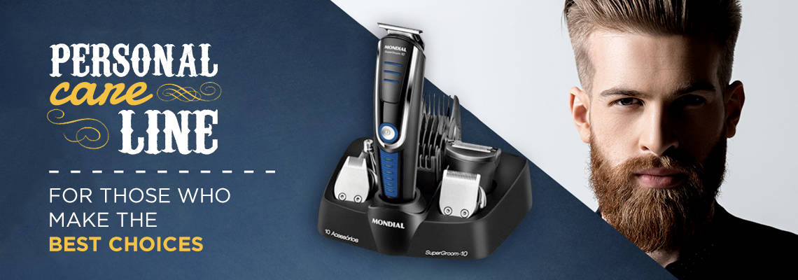 Slide Mondial Personal Care Line for Man