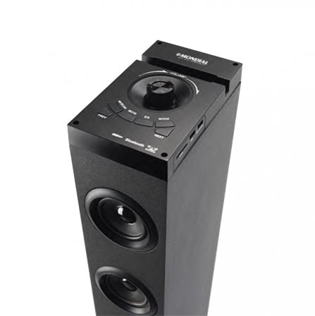 Mondial Channel Wooden Tower Speaker SystemTWB-03