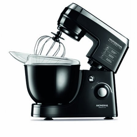 Mondial Electronic Professional B-06 is a modern shiny black design stand mixer for precise mix results