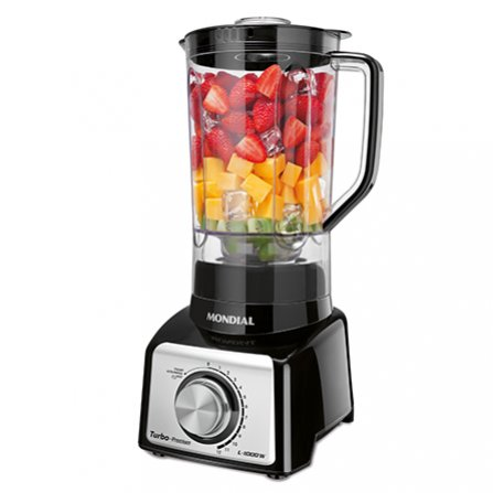 Mondial Turbo Premium Blender L-1000B with High Quality industrial ball bearing motor