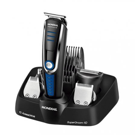 Mondial SuperGroom 10 Hair Trimmer BG-03 with rechargeable battery