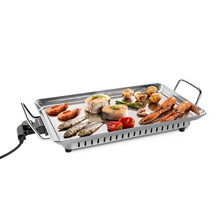 Mondial Table 4Cook Inox Chef TC-04I is a table grill ideal for preparing fish