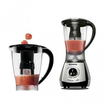 Green juices with Mondial Premium Silver Blender L-51