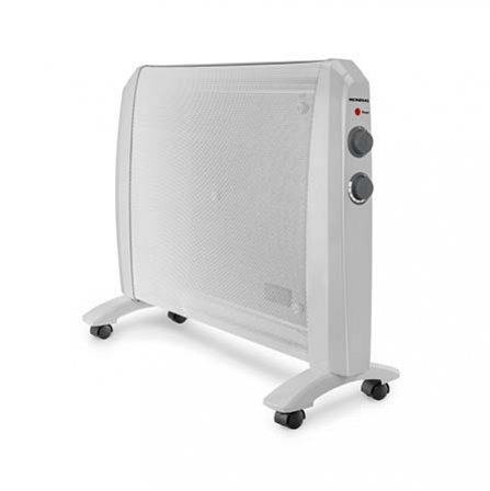Mondial Comfort Mica Heater A-10 floor location by 4 rotating wheels