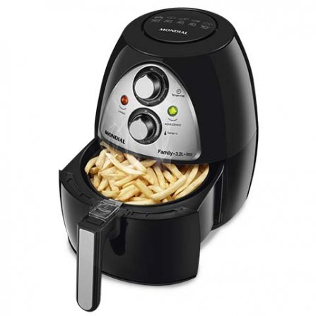 Mondial Family Fryer NAF-03i is ideal for French fries without adding oil