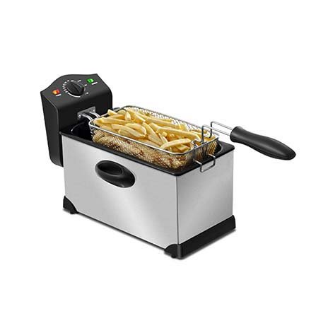 Mondial Premium Fryer FT-06 3.5 L, capacity High Quality stainless fryer